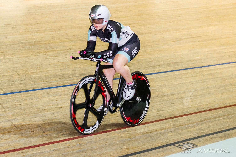 Team GB Cyclist Chloe Selman