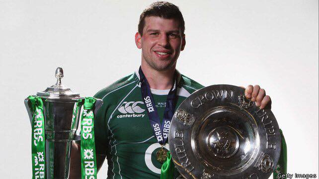 Former Irish and Munster Rugby Player Denis Leamy